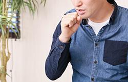 かぜをひいてから鼻水がのどに流れるような不快感がつづいている