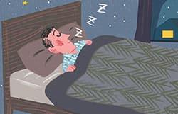 からだと心によい眠りは… 「深睡眠」がキーワード