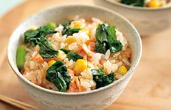 春野菜たっぷり彩りレシピ