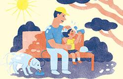 子どもは熱中症になりやすい?
